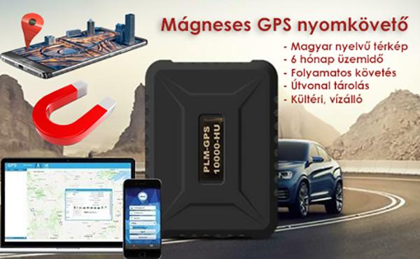 Mágneses GPS nyomkövető