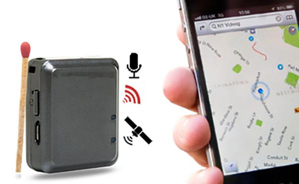 Mini GPS nyomkövető és lehallgató autóba